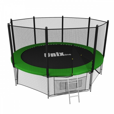 Батут Unix 12FT Outside (Green)