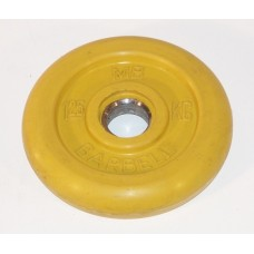 Диск для штанги MB Barbell желтый - 50 мм - 1.25 кг