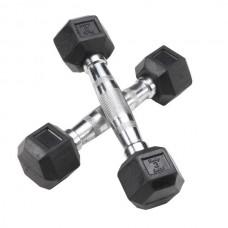 Гантель Body Solid гексагональная - 3 кг.