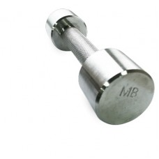 Гантель MB Barbell хромированная - 2.5 кг