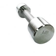 Гантель MB Barbell хромированная - 3 кг