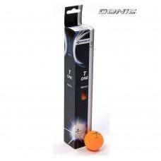 Мячи для настольного тенниса Donic T-One - 6шт. - оранжевые