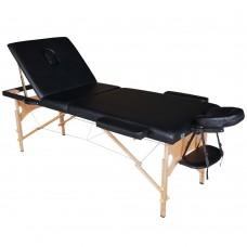 Массажный стол складной DFC Nirvana Relax Pro - черный