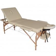 Массажный стол складной DFC Nirvana Relax Pro - бежевый