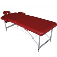 Массажный стол складной DFC Nirvana Elegant Luxe - красный