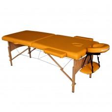 Массажный стол складной DFC Nirvana Relax - горчица